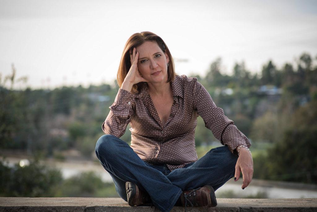 Portrait Jaime Levy, specjalistki od strategii UX autorstwa Paula Vachiera