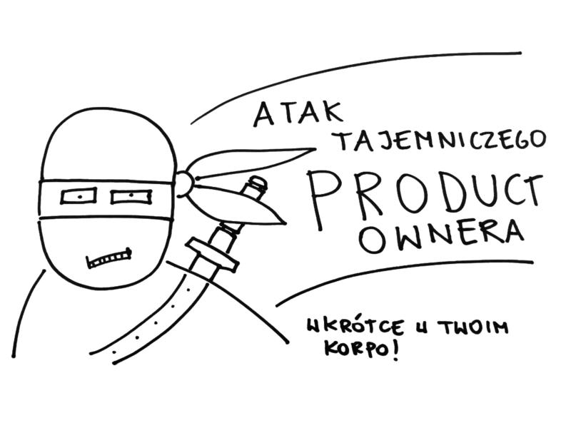 Nindża - produkt owner