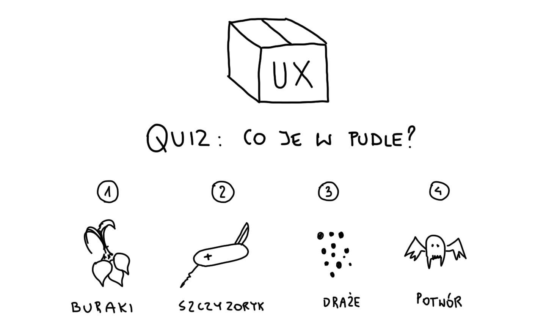 Pudełko, w którym czają się niespodzianki UX
