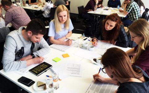 Uczestnicy warsztatów UX w praktyce