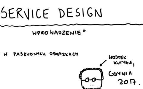 Klatka tytułowa z nagraniem video z wykładu o service design