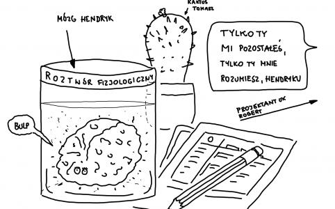 Hendryk, mózg w słoiku