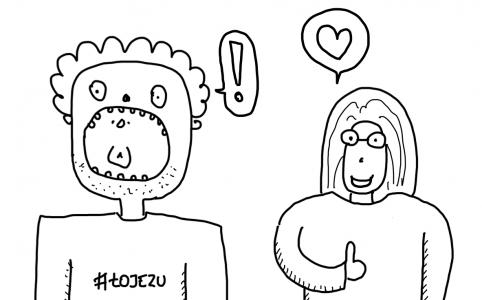 Antoni i Misia wyrażają skrajne zdziwienie i radość po przeczytaniu raportu o UX w Polsce