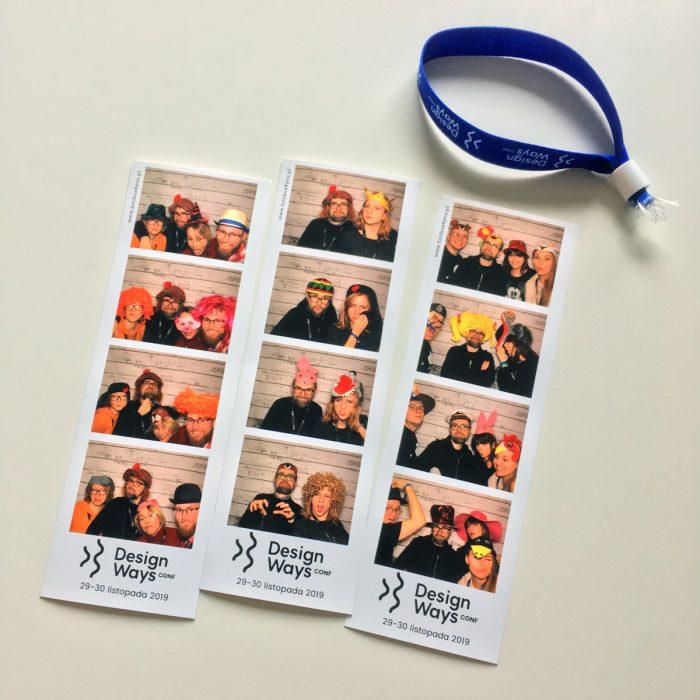 Zdjęcia z przyjaciółmi z DesignWays