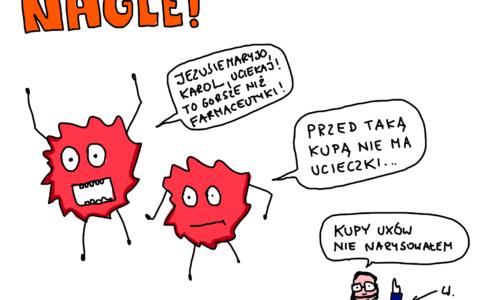 Wirusy uciekają przed kupą UXów