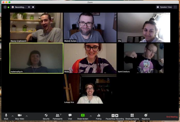 Uczestnicy i uczestniczki drugiej edycji programu mentorskiego — grupa B